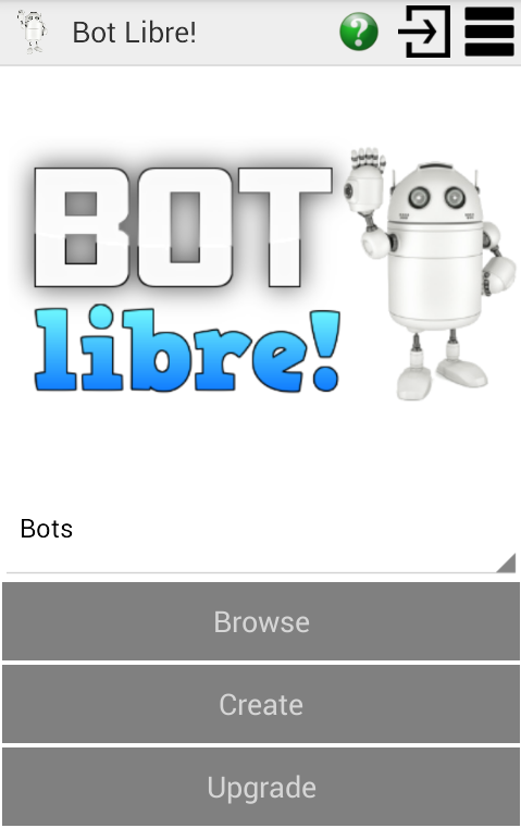 Bot Libre!- screenshot