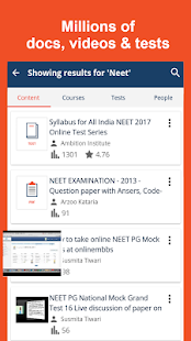 NEET-AIIMS Tests/Notes/Videos- screenshot thumbnail