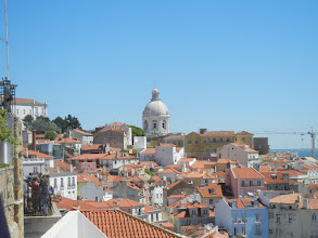 Photo: View of Lisbon from the Alfama District
