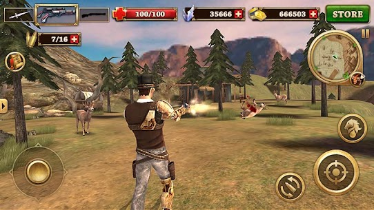 Pistoleiro do Oeste – West Gunfighter [Mod Money] 4