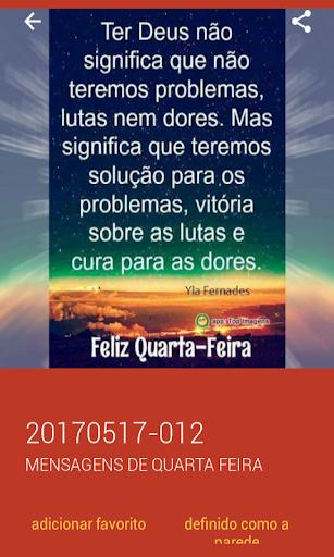 Mensagens de Quarta Feira 2.0.0.0 screenshots 6