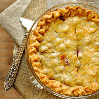 Old Fashion Cranberry Orange Pie