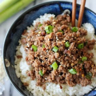 Korean Beef Bowl.