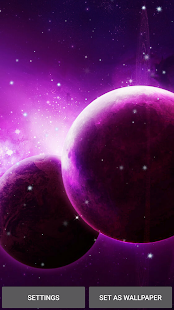 Planets Live Wallpaper- screenshot thumbnail