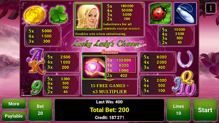 Lucky Lady's Charm Deluxe Slot 2.4 screenshot 364162