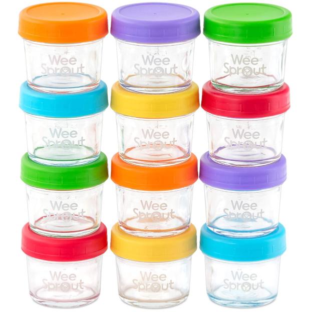 Best Glass Baby Food Storage