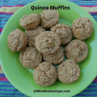 Quinoa Muffins.