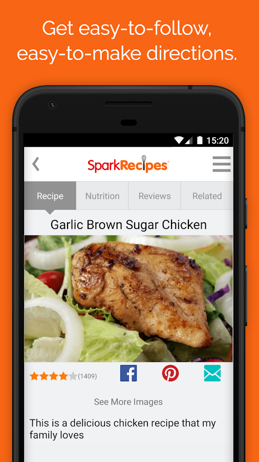 Healthy Recipes & Calculator- screenshot