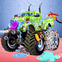 Monster Truck Cleanup: Car Repair & Fix It Game icon