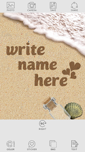 Write Name On Sand - náhled
