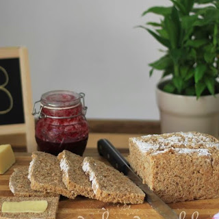 Quick & Easy No-Knead Wholemeal Bread (British Grant Loaf).