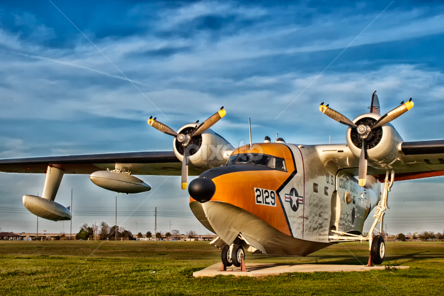Seaplane  by Joe Saladino - Transportation Airplanes ( flight, military aircraft, airplane, aircraft, seaplane )