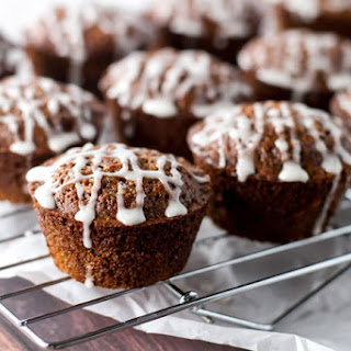 Maple Gingerbread Muffins