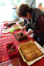 Photo: Le buffet des desserts : de vraies œuvres d'artistes.