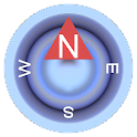 Compass Blue Free icon