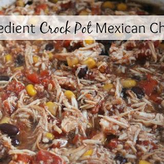 5 Ingredient Crock Pot Mexican Chicken