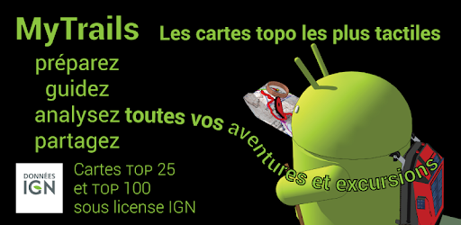 telecharger carte ign android gratuit MyTrails – Applications sur Google Play