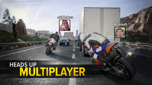 Highway Rider Motorcycle Racer 2.0.1 screenshots 1