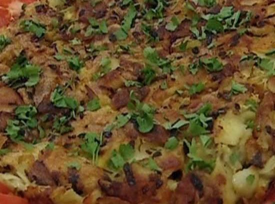 Potato Omlet Recipe