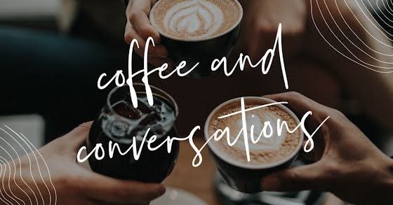 Coffee & Conversations - Facebook Event Cover Template