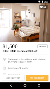 RadPad: Apartment Finder App- screenshot thumbnail