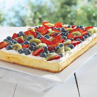 Fruity Cheesecake.