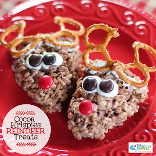 Cocoa Krispies Reindeer