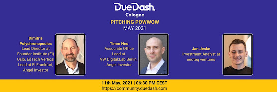 DueDash Cologne: Pitching PowWow May 2021
