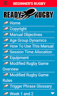 Beginners Rugby Manual- screenshot thumbnail