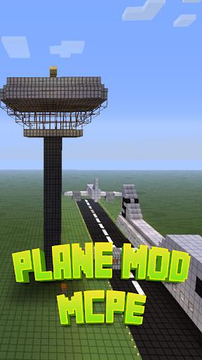 Plane Mod For MCPE