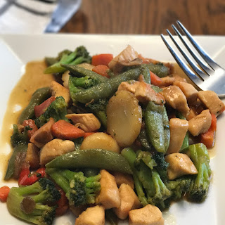Whole30 and Paleo Chicken Stir Fry.