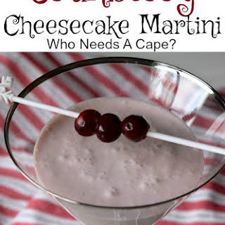 Cranberry Cheesecake Martini.