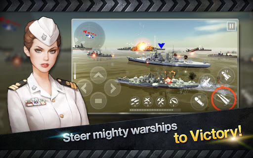 WARSHIP BATTLE:3D World War II apkdebit screenshots 12