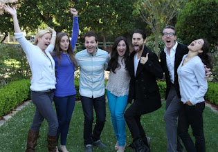 Photo: Jared and Emma with Facebook Crew