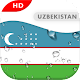 Uzbekistan Flag 3D live wallpaper for PC-Windows 7,8,10 and Mac