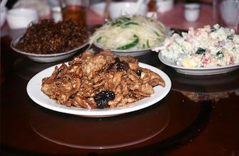 Photo: 03413 二連/市街/レストラン料理