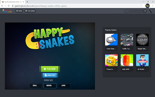Happy Snakes Slither Game