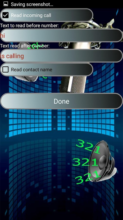 caller name announcer - Talkit- screenshot