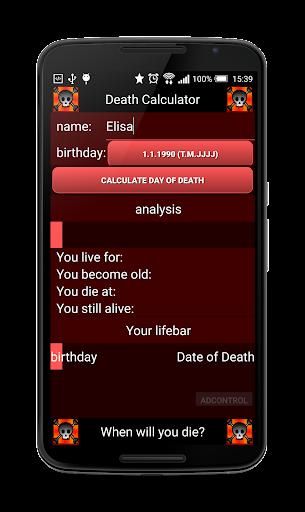 ☠ Death Calculator ☠