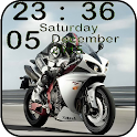 Clock Bikes Live Wallpaper icon