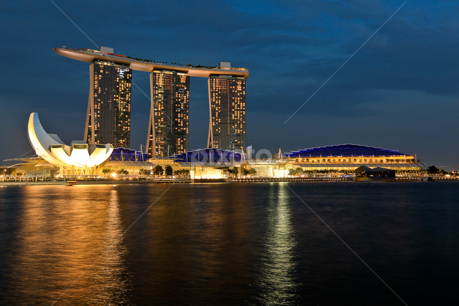 Marina Bay Sands, Singapore by Handoko Lukito - Buildings & Architecture Office Buildings & Hotels