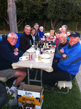 Photo: Saturday's Pizza Party at Mike's RV in Flying Flags Campground