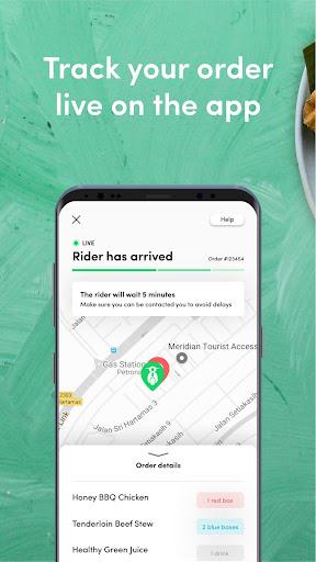 dahmakan - food delivery app 44.1.2 screenshots 4