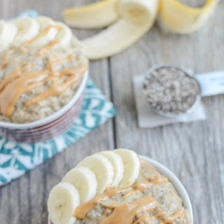 Peanut Butter Banana Chia Pudding