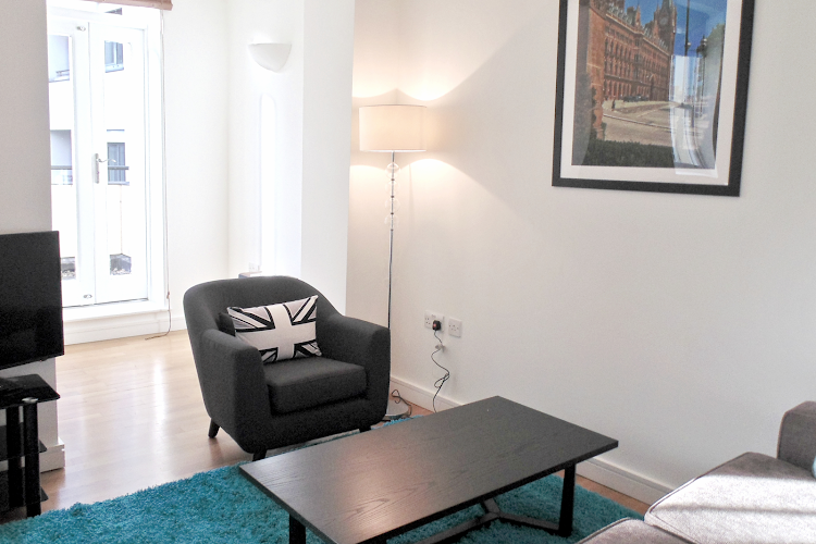 Living room at King's Cross Executive