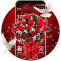 3D Rose Valentine's Day Theme APK