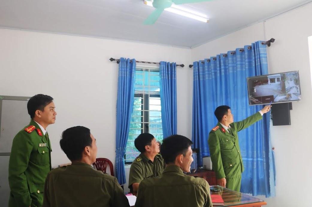 Ban Công an xã Quỳnh Lập triển khai kế hoạch bảo đảm ANTT dịp trước, trong, sau Tết Nguyên đán