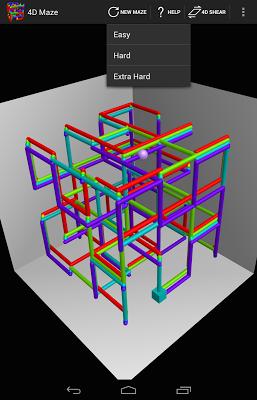 4D Maze - screenshot