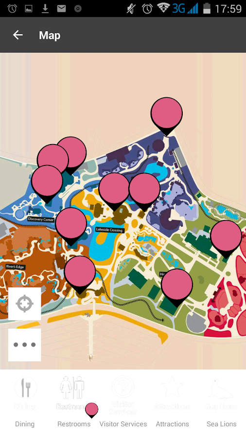 Saint Louis Zoo Map