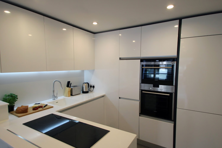 Fully equipped kitchen at Dance Square serviced apartments